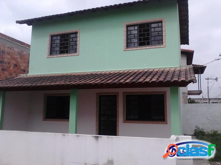 Casa duplex com 2 quartos em nova cidade - itaboraí