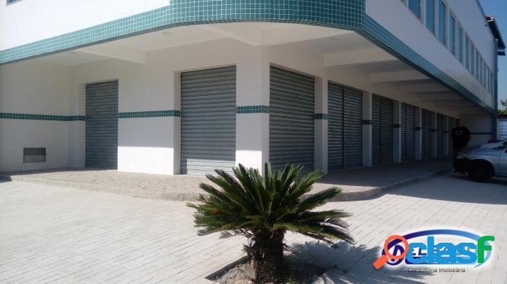 Lojas de primeira locação em prédio comercial em ampliação