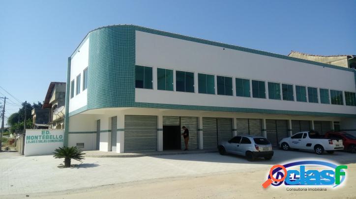 Salas de primeira locação em prédio comercial em ampliação