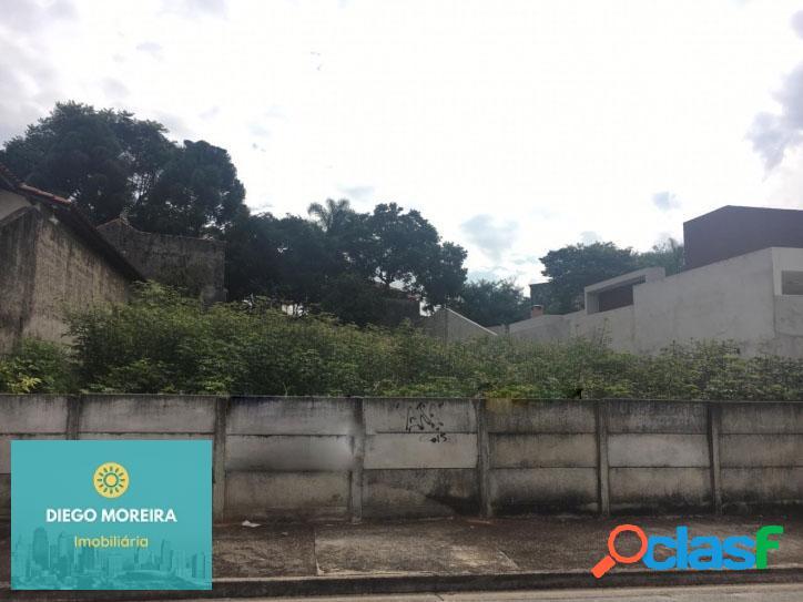 Terreno á venda em atibaia, bairro de auto padrão.