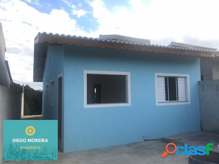 Casa nova em terra preta, aceita financiamento bancário!