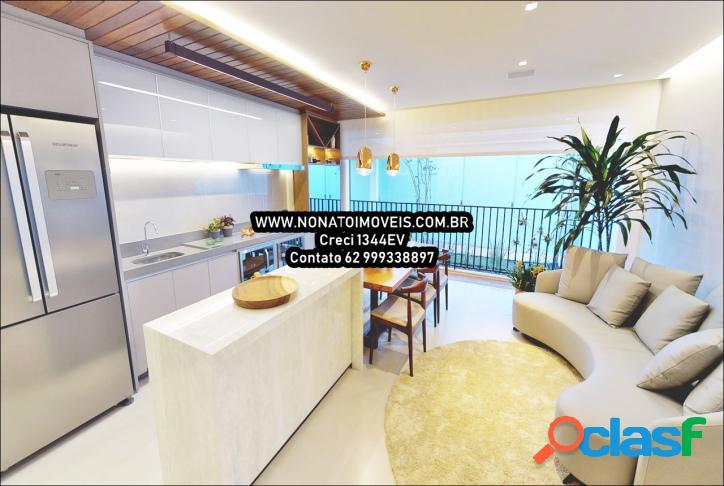 Setor marista ! 3 suite ! 120 m² ! entrada apenas 20.000
