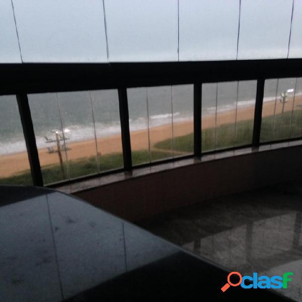 Imperdível ! 4 quartos revertidos em 3 suítes frente mar praia da costa