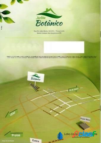 Terreno no loteamento Jardim Botânico