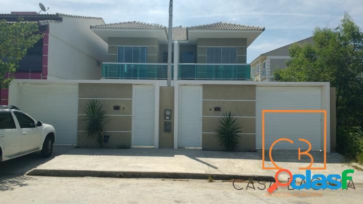 Excelente casa duplex c/3 quartos(2 suíte) na nova são pedro