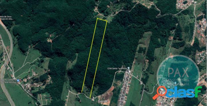 Área de 14 hectares em forquilhas são josé/sc