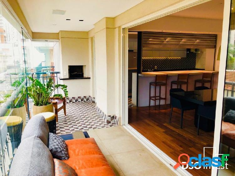 Excelente apartamento, decorado e mobiliado!