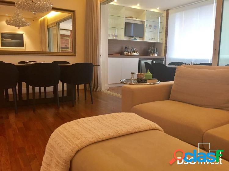 Belíssimo apartamento de alto padrão com 151 m²