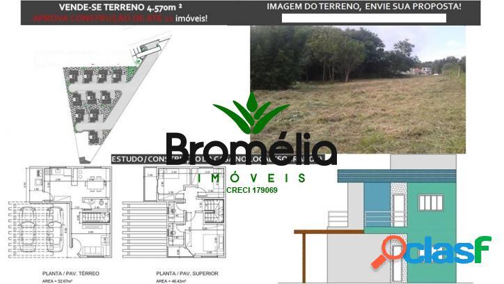 Terreno 4.750 m2, em atibaia, aprova 11 casas ótimo local