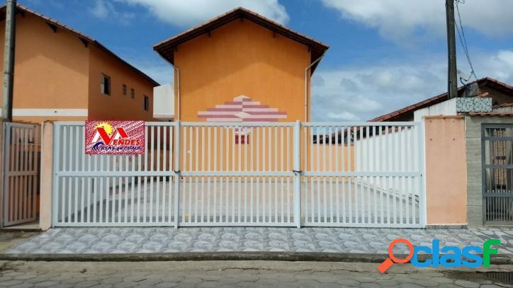 Sobrado em condomínio na mendes casas de praia - mongaguá