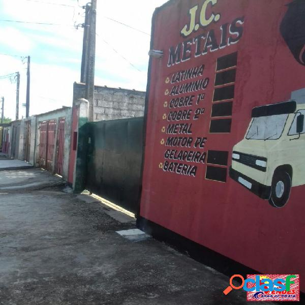 Ponto comercial 10 x 25 em mongaguá na mendes casas de praia