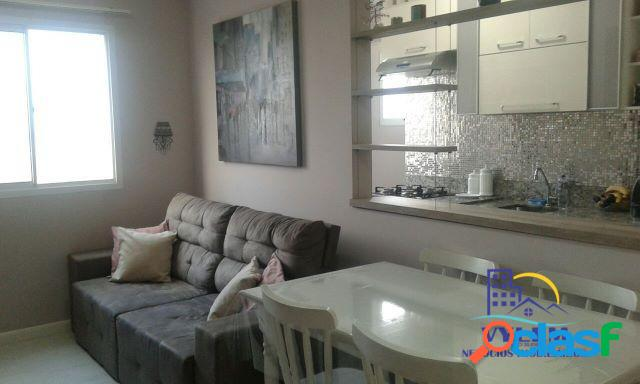 Apartamento 54,00 m², 02 dormitórios, com móveis planejados