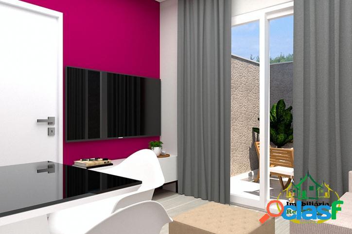 Apartamento de 1 dormitório, jardim zulmira - prontos para morar