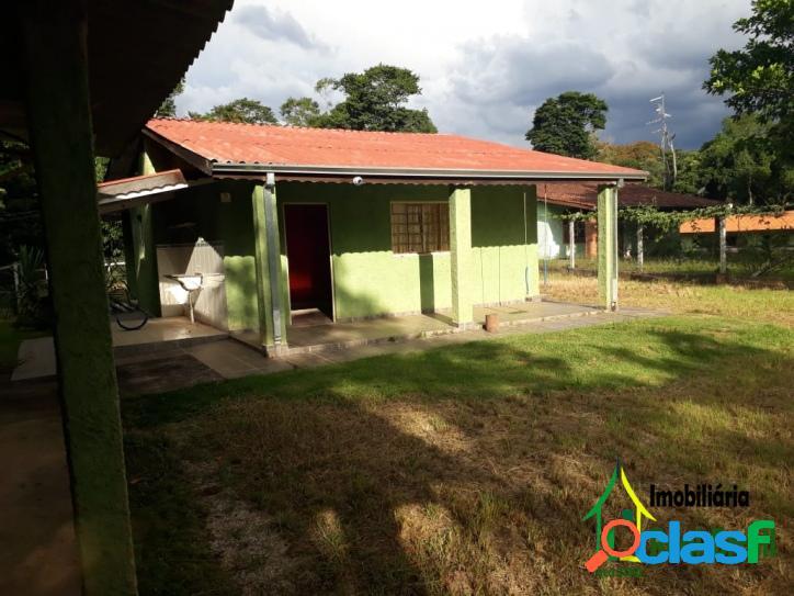 Chácara condomínio fechado em ibiúna - aceita permuta