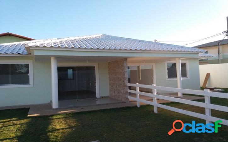 Casa independente 2 quartos 1ª locação no guriri - cabo frio