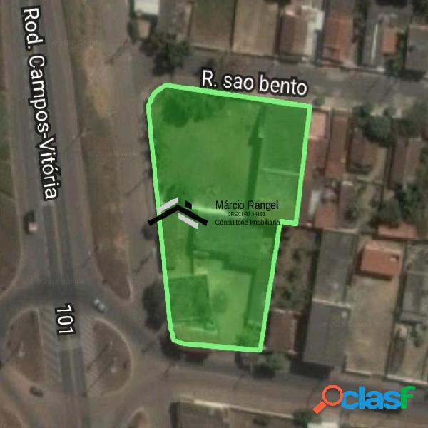 Área comercial no trevo de travessão de campos, br101 km47