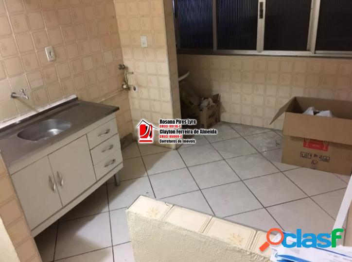 Apartamento de 1 dormitório bairro boqueirão - santos