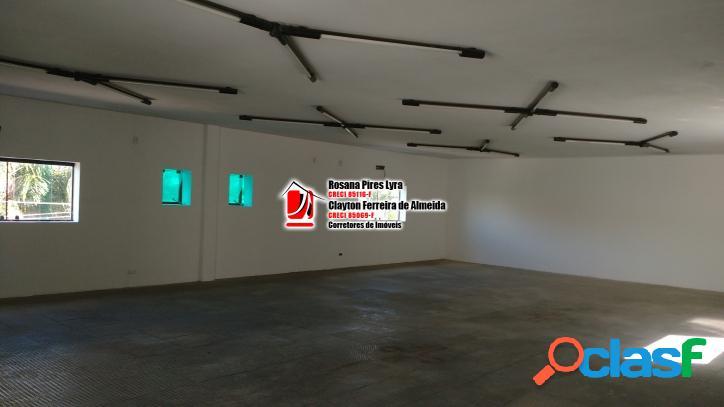 Salao comercial 166 m2 aparecida santos