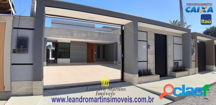 Luxuosa casa com projeto diferenciado em área nobre de itaipuaçu !!
