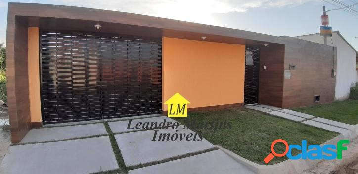 Maravilhosa casa de 3 quartos prox a rua 35 de itaipuaçu !! Terreno 480 mts