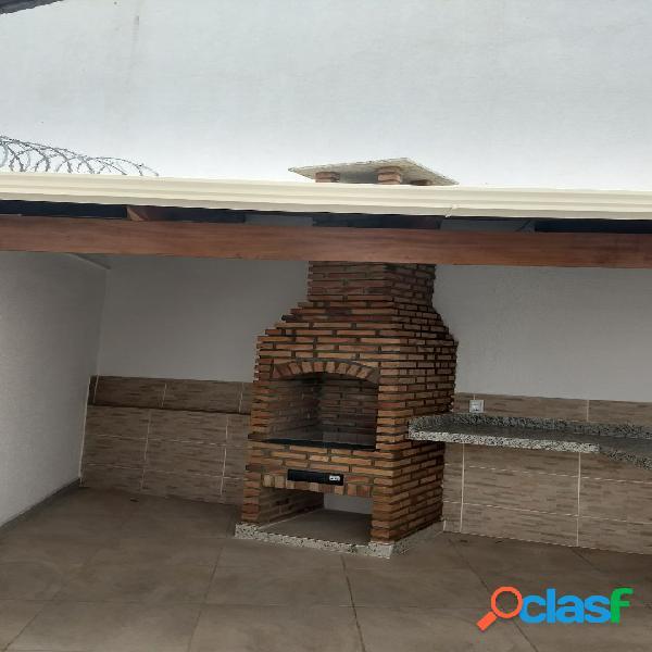 Casa geminada com área gourmet, 02 qtos - santa mônica