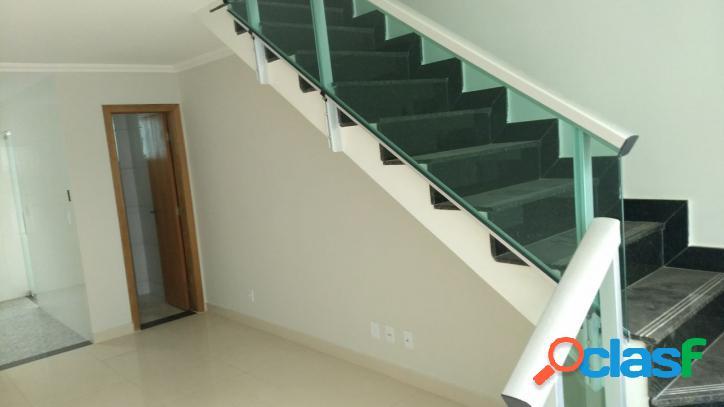 Casa geminada duplex 02 quartos - oportunidade - jd. leblon