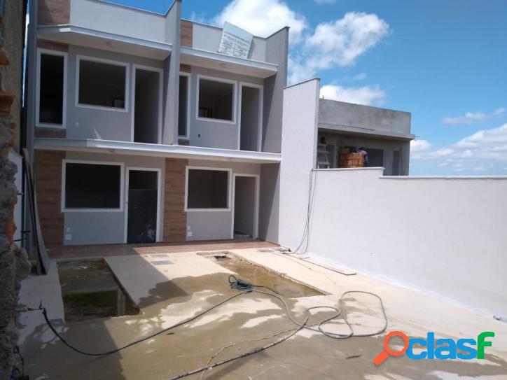 Casa duplex independente 3 quartos na região do venda nova.