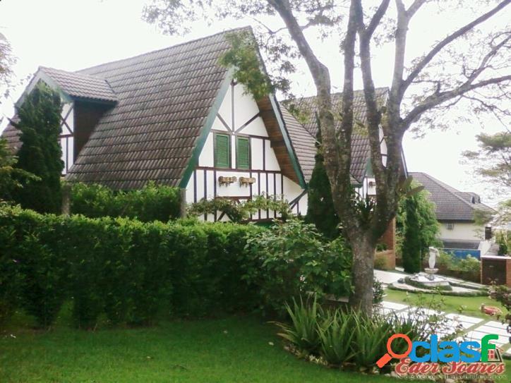 Casa no residencial 8 com 2 terrenos em alphaville - sp