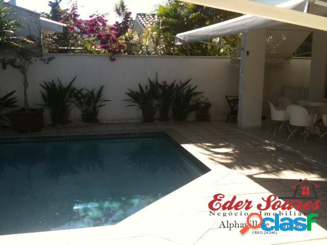 Vende casa na região de alphaville residencial 6: $1.500.000