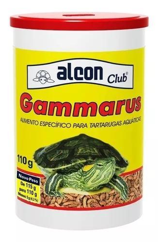 Alcon gammarus 110 g - ração tartaruga camarão