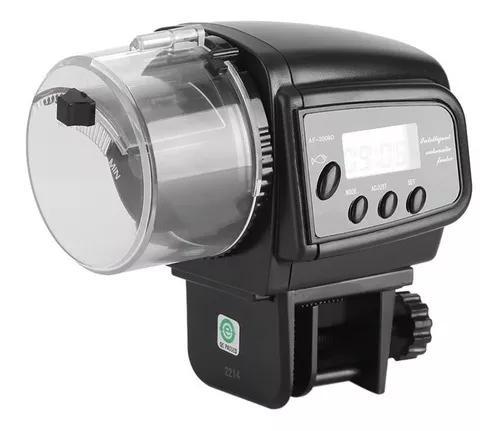 Alimentador automatico peixes aquario 4 vezes/dia + manual