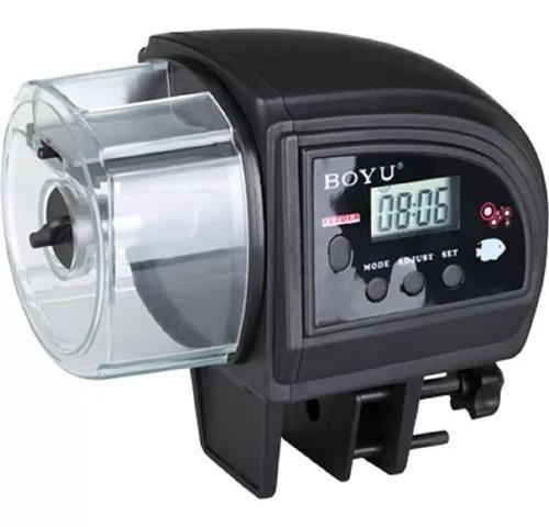 Alimentador automático de peixes digital a pilha boyu zw-82