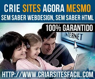 Aprenda a criar sites facilmente - garantido