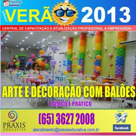 Arte e decoração com balões - básico e prático