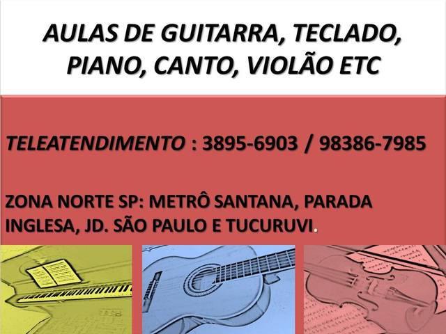Aula curso de clarinete zona norte sp metrô santana