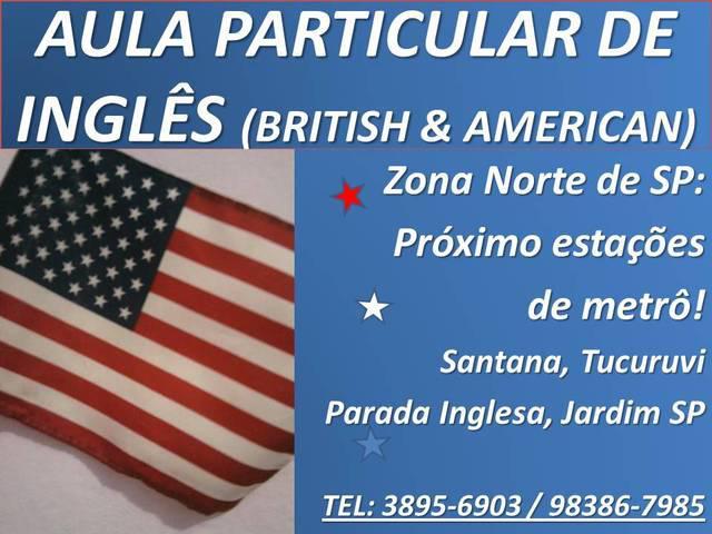 Aula Curso de Inglês   Parada Inglesa / Tucuruvi / Santana