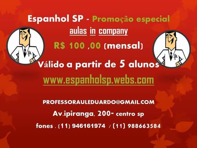 Aulas de espanhol e tradução de textos e manuais