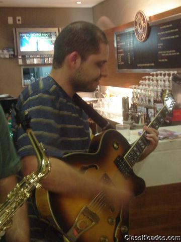 Aulas de guitarra e violão domicílio/local são paulo