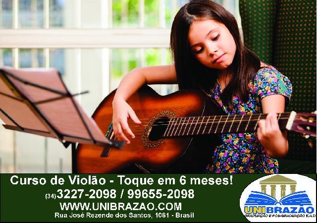 Aulas de violão em uberlândia-mg - conserv- brazão