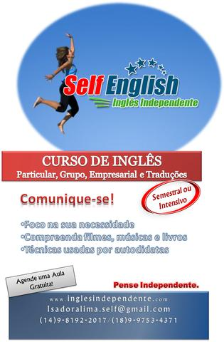 Aulas personalizadas de inglês   técnicas autodidatas