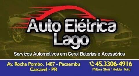 Auto eletrica e baterias lago