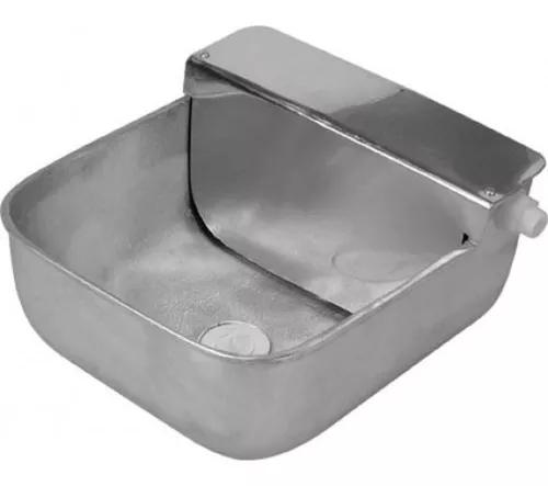 Bebedouro alumínio fundido com boia 5,5 litros para animais