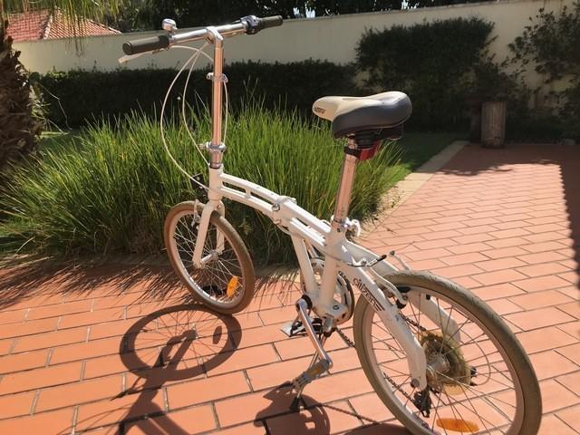 Bicicleta dobrável citizen