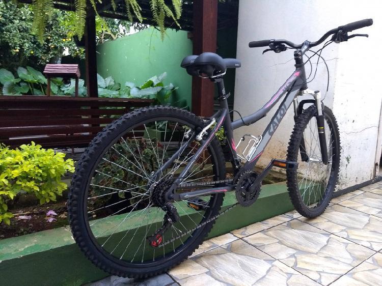 Bicileta mountain bike htx sport feminina