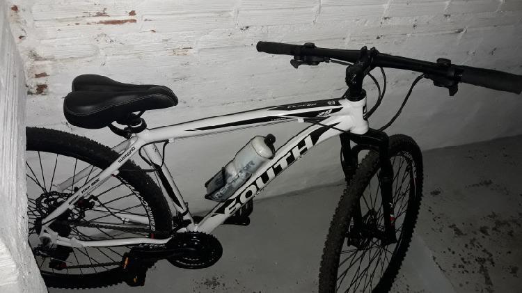 Bike aro 29 24 marchas south bike usada 2 vezes apenas