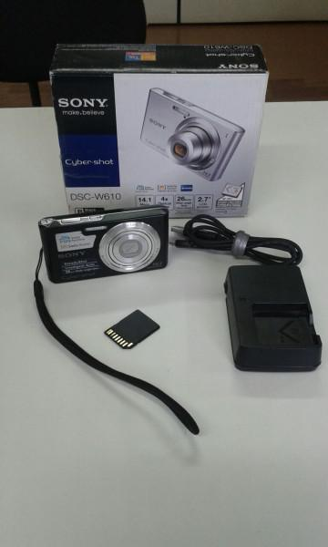 Camera digital sony dsc-w610 - semi nova