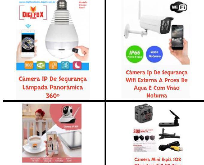 Câmera ip de segurança wifi