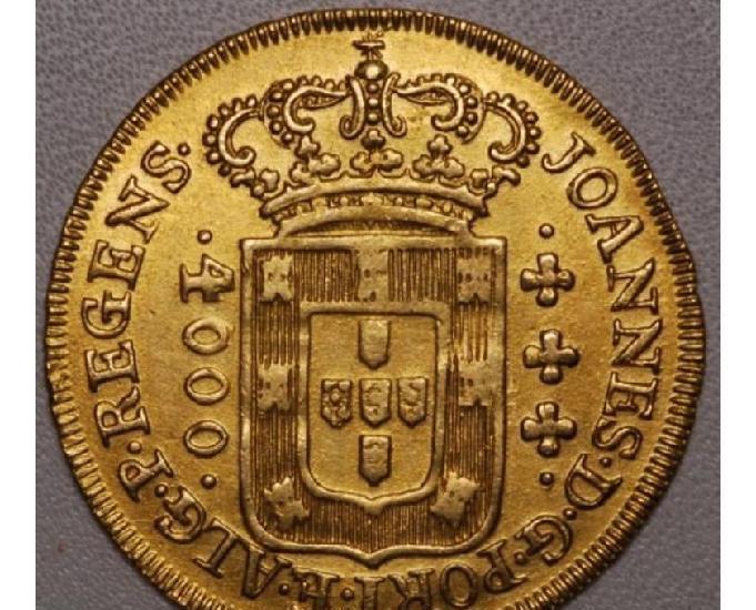 Compro moedas de ouro anteriores ao ano 1921 pago r$950,00