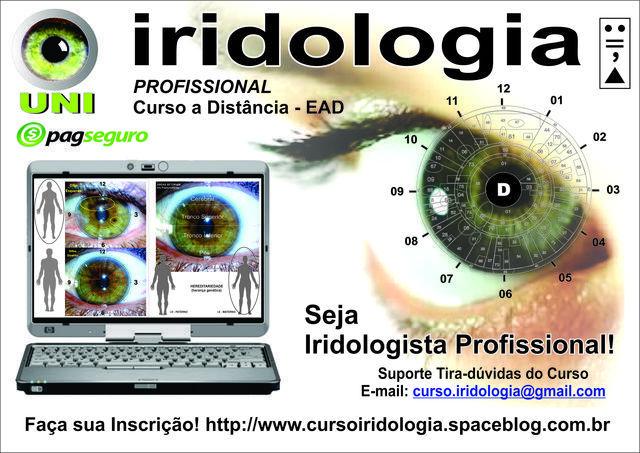 Curso de iridologia online com suporte ao estudante