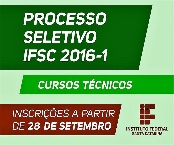 Cursos técnicos do ifsc são carlos inscrições abertas